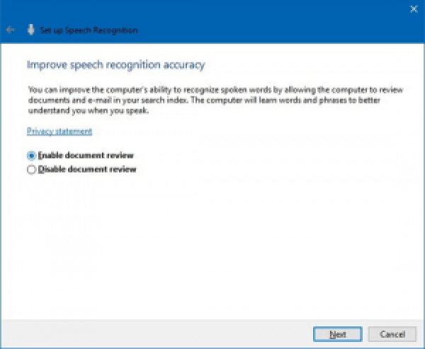 How to set up and use Speech Recognition on Windows 10? -