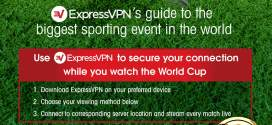 Watch the FIFA World Cup 2018 with a VPN