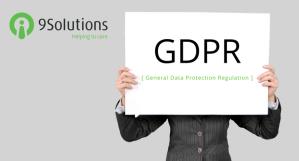 9Solutions on sitoutunut toimimaan Eurooppalaisen tietosuoja-asetuksen GDPR:n mukaisesti