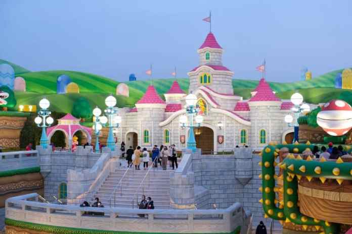 The Super Nintendo World Theme Park Is Waiting For You japan theme park