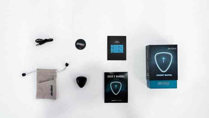 AeroBand PocketGuitar: Learn To Play Guitar Without Buying A Guitar