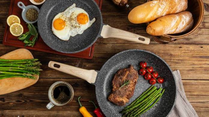 This Best Nonstick pan helps you to cook your food faster and healthier