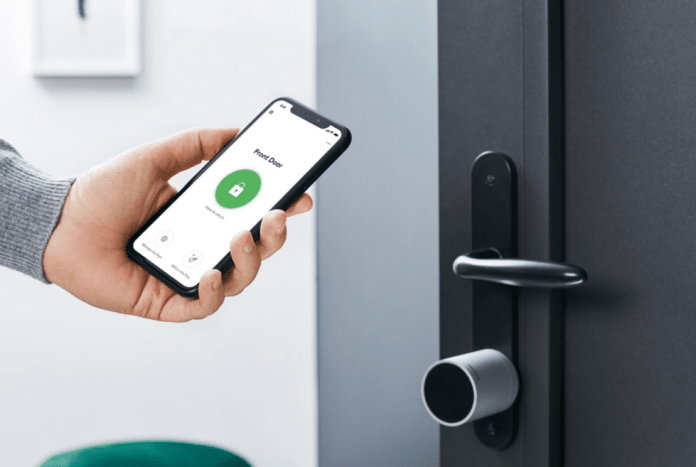 Security Smart lock touch.