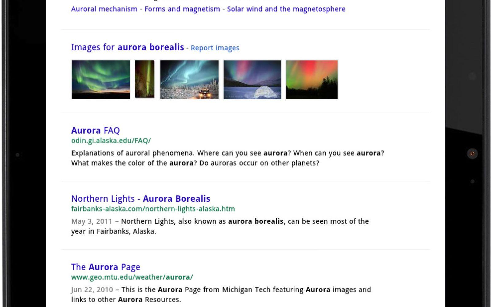 Pleasing Google Unveils New Search Ui On Tablets Bigger Buttons Beutiful Home Inspiration Semekurdistantinfo