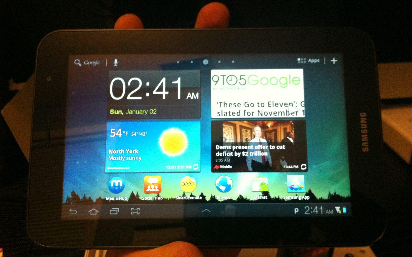 Review: Samsung Galaxy Tab 7 0 Plus - Fantastic form factor