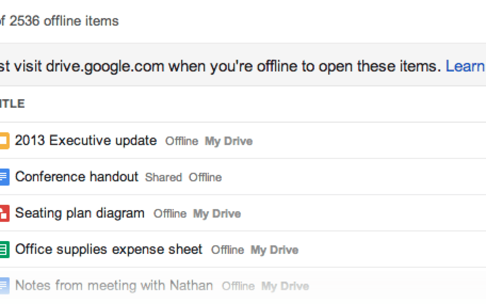 Google Drive Offline Now Lets You Create Edit Drawings - How to edit google docs