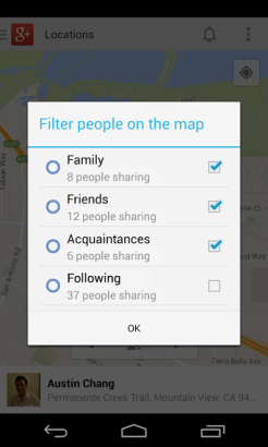 4location-sharing-filter