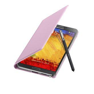 Galaxy Note3 FlipCover_004_Open Pen_Blush Pink
