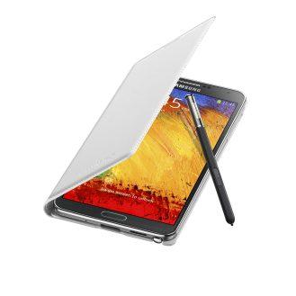 Galaxy Note3 FlipCover_004_Open Pen_Classic White