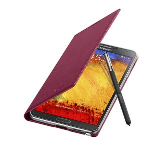Galaxy Note3 FlipCover_004_Open Pen_Plum Magenta