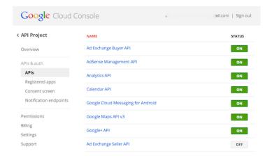 Google-Cloud-Console