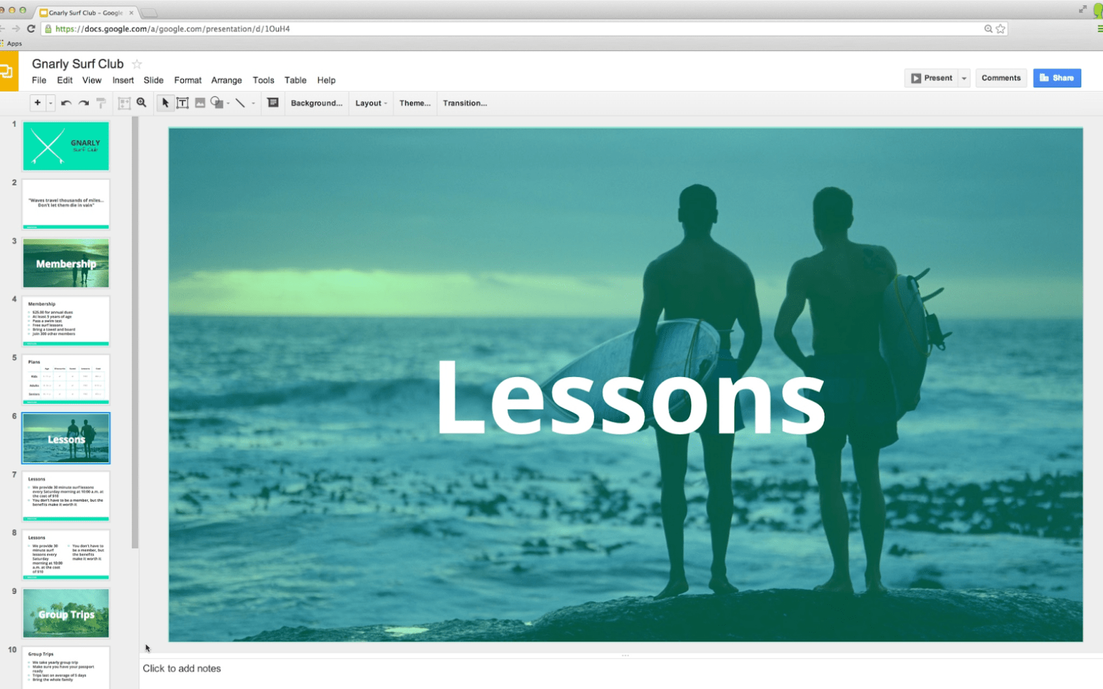 Google Slides updated w/ widescreen presentations & editable