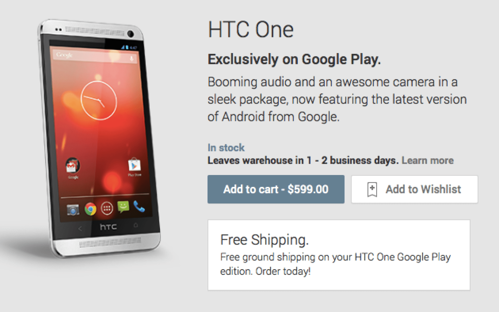 HTC One Google Play edition next to receive Android 4.4.2