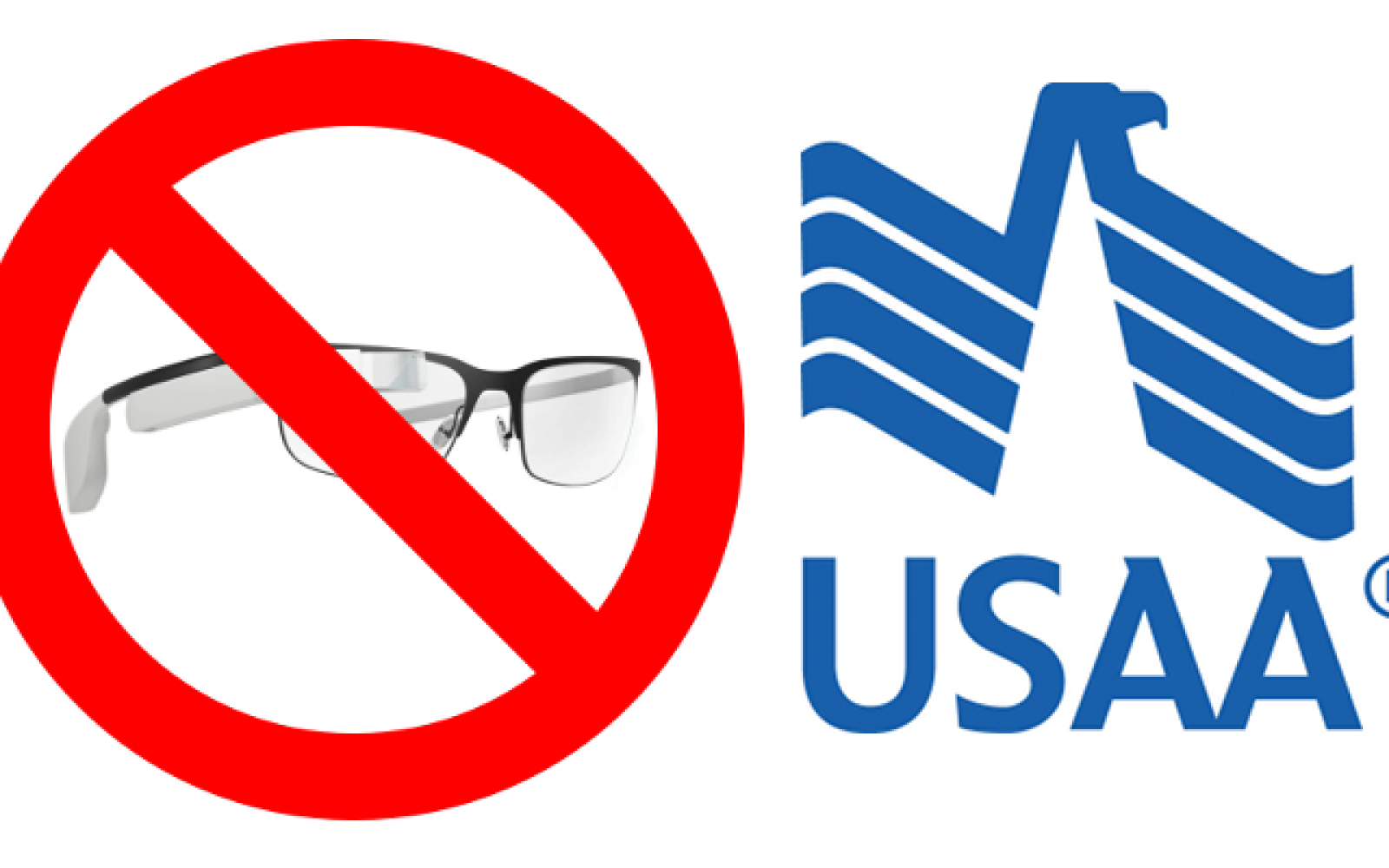 Employees of USAA are now banned from wearing Google Glass, other wearables