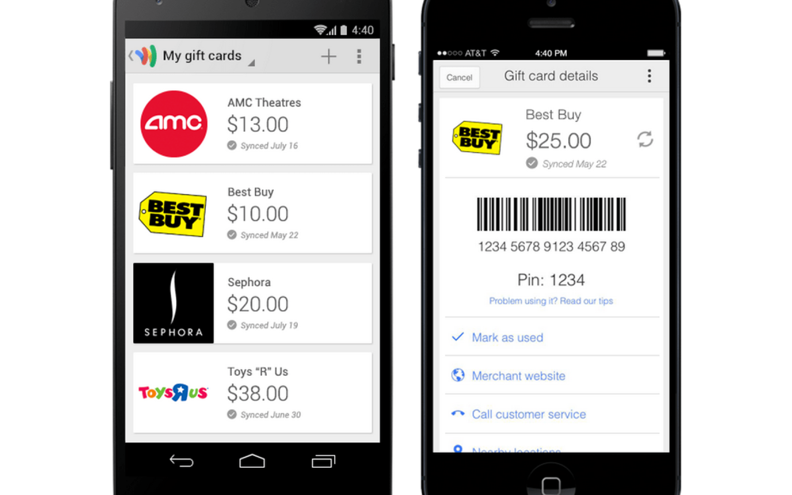 Google Wallet mobile apps add gift cards, invoicing, ability
