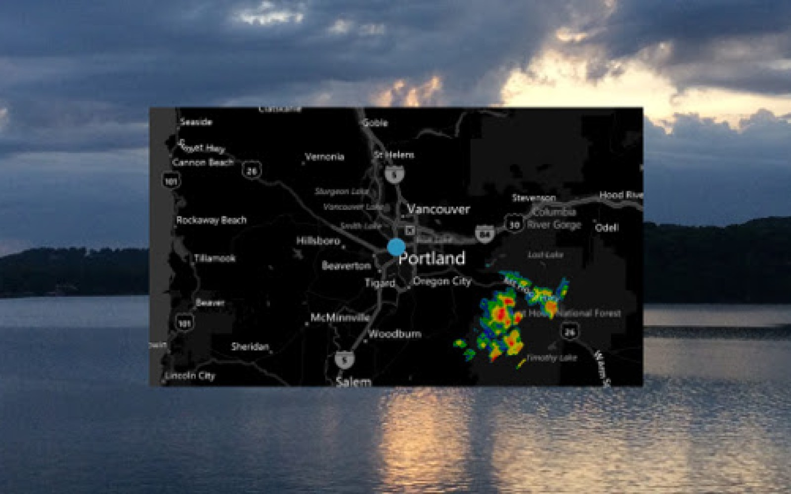New MyRadar official Glassware lets you view live radar on Google Glass
