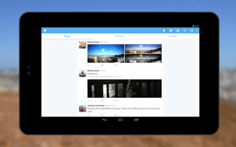 Twitter for Android 4