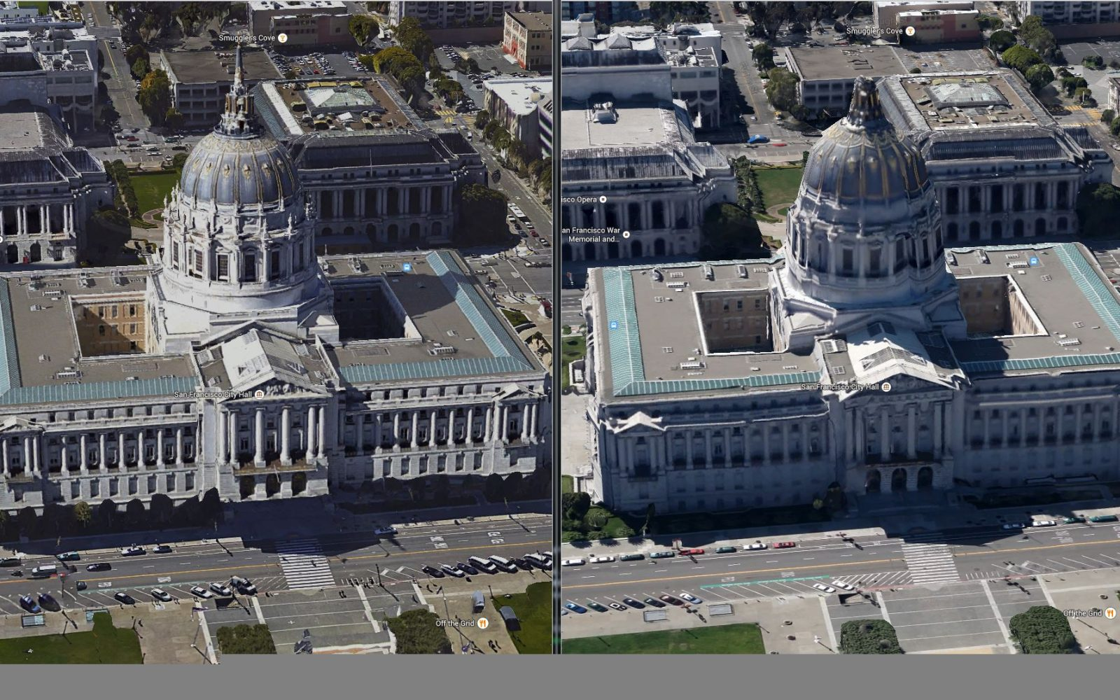 Google Earth and Maps get new 3D imagery for San Francisco ... on google maps aerial satellite view, google maps helicopter view, google earth live satellite view, google earth street view usa,