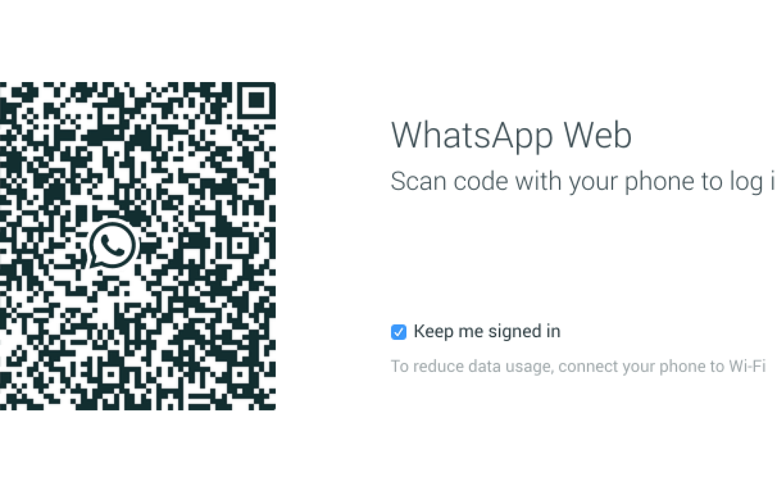 WhatsApp's web-based chat client launches, only works with Google