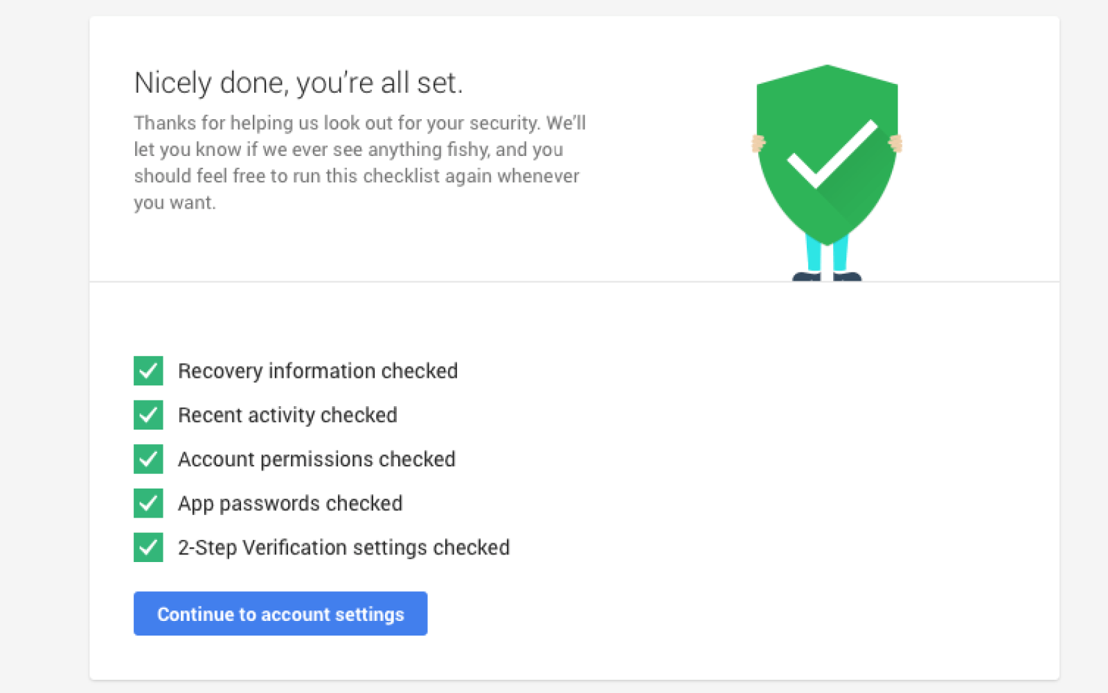 Take 30 seconds to check your Google account security, get 2GB extra on Google Drive