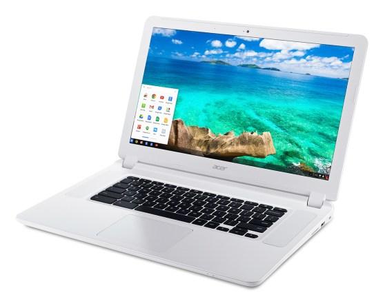 acer-chromebook-15-cb5-571-white-front-up-left-angle-start-bar