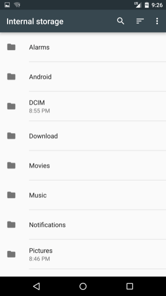 New file manager!