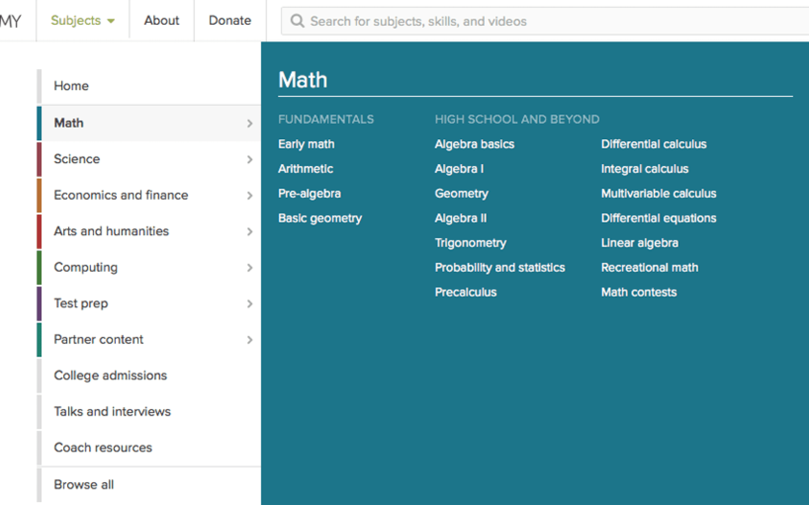 'Free, world-class education' service Khan Academy now available on Android