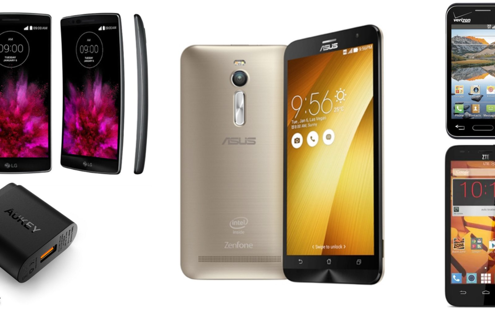 Great Deals: LG G Flex 2 for $249, Optimus Zone 2 for $12 (yes