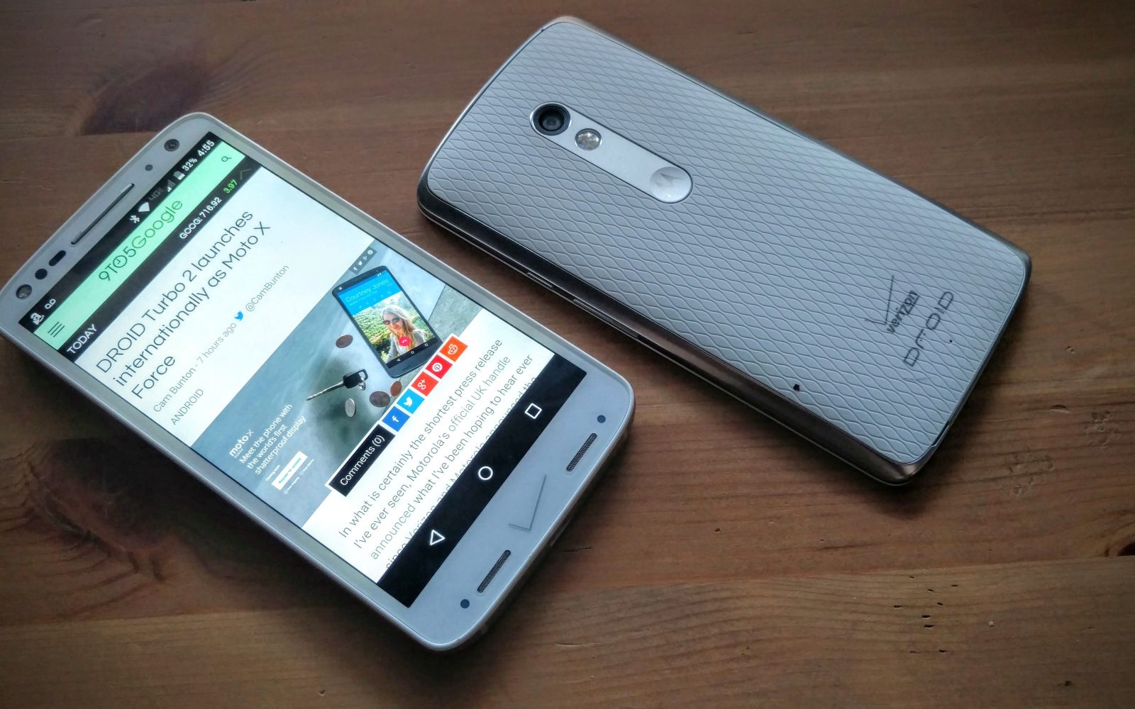 Review: Verizon's new Moto Droid Turbo 2 and Maxx 2 can't