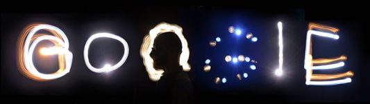 Light painting by Robinson Wood