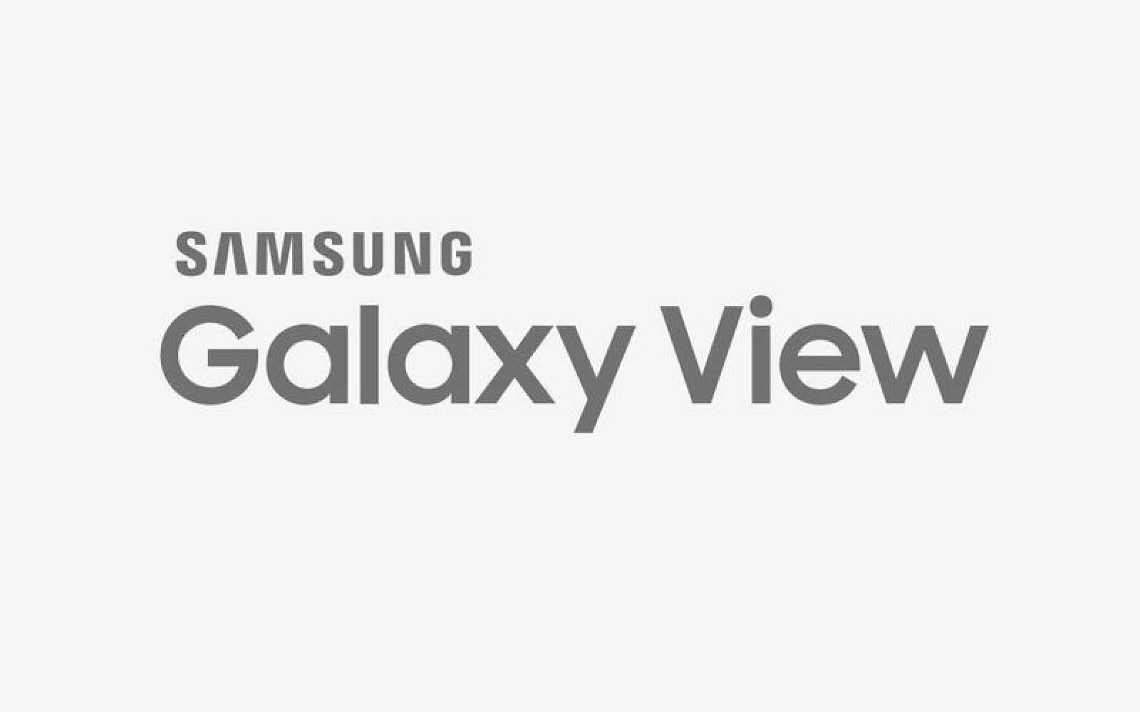 Huge 18.4-inch Samsung Galaxy View tablet specs revealed in leaked benchmarks