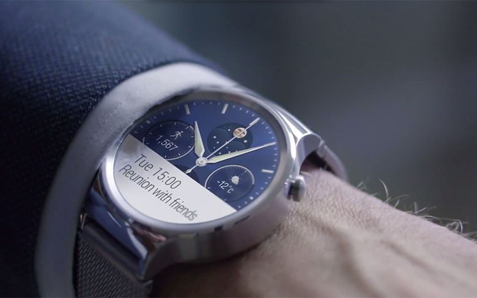 Latest version of Android Wear being beta tested on the Huawei Watch
