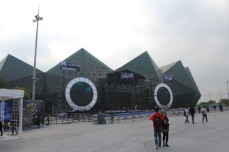 The main concert stage