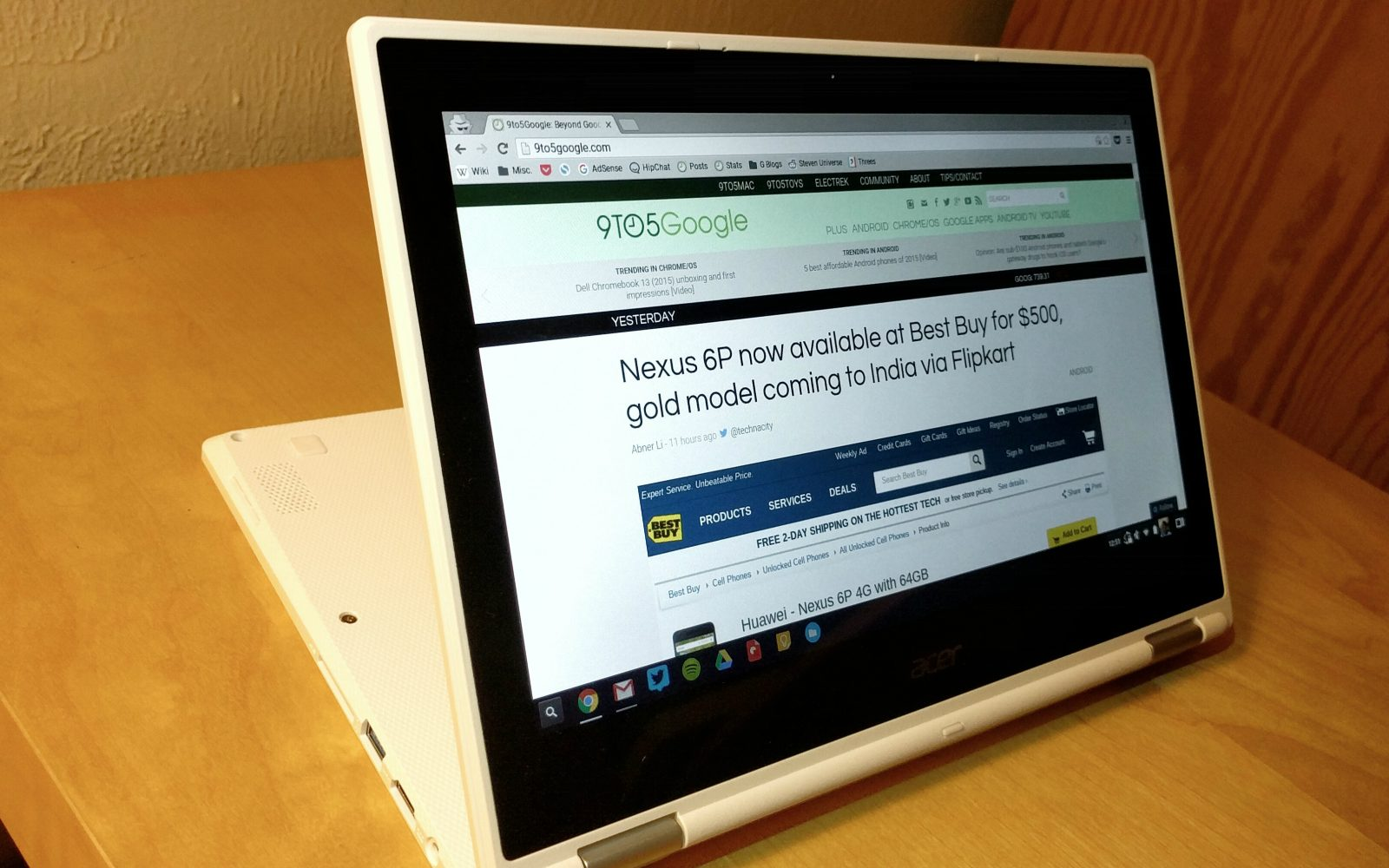 Acer Chromebook R11 review: Great laptop, but Chrome OS is
