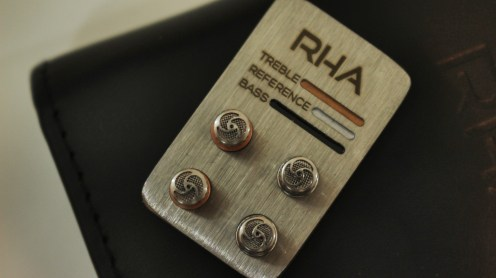 RHA's Tuning Filters let you manually customize the sound profile to suit your tastes.
