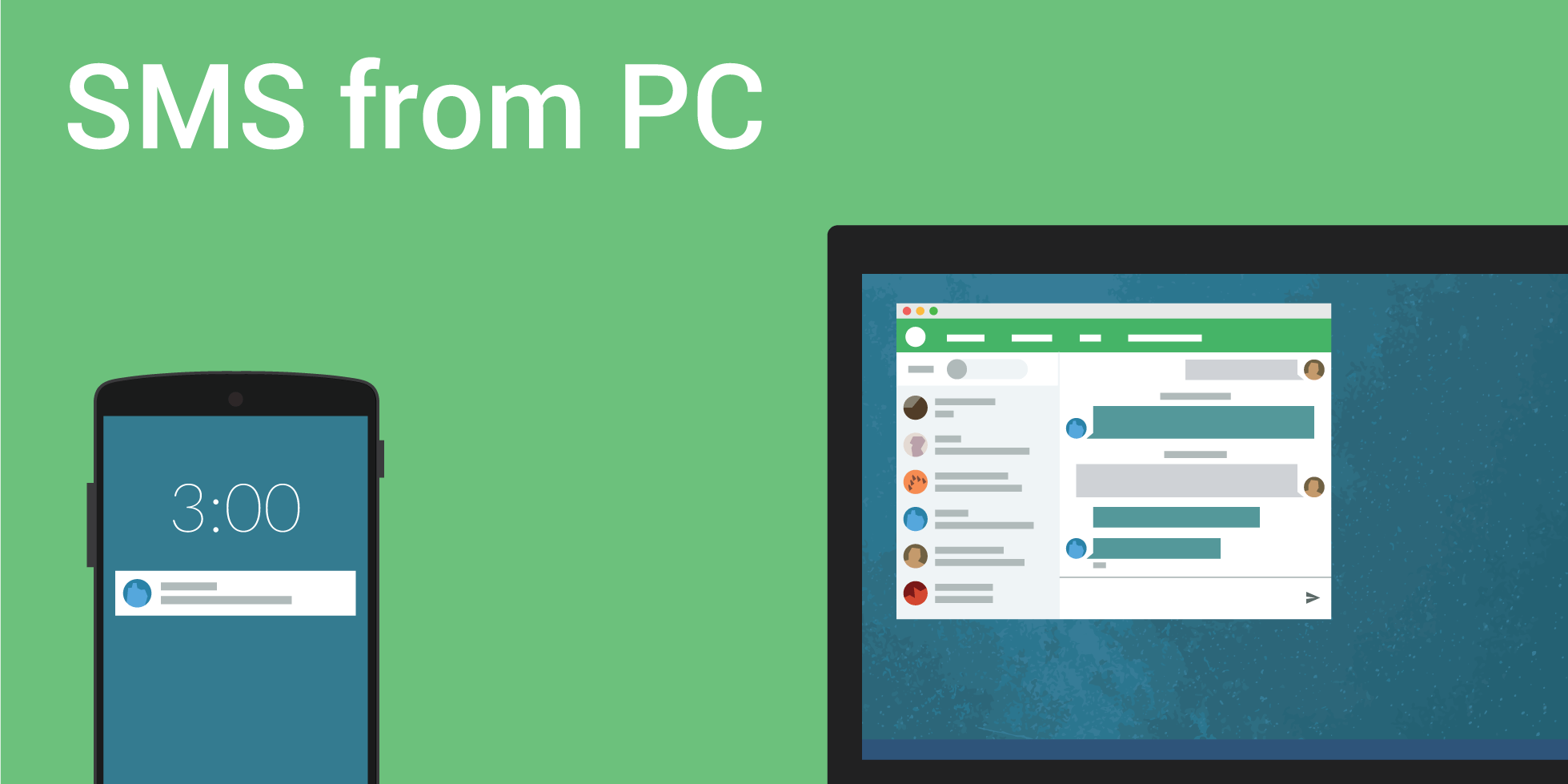 Pushbullet service adds photo messaging (MMS) from PC, increased