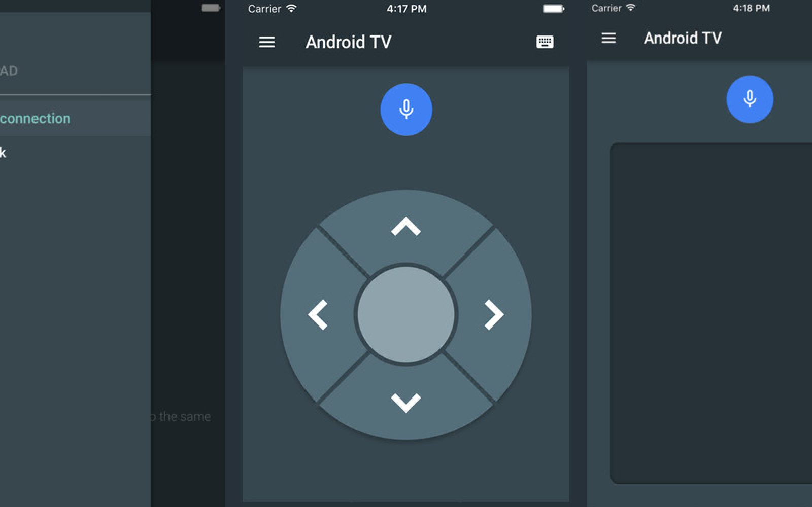 Google has launched an Android TV remote control app for iPhone