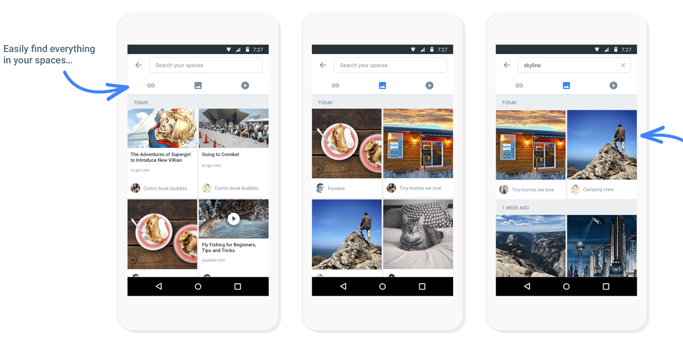 Google Launches Spaces: New App for Group Sharing of Content