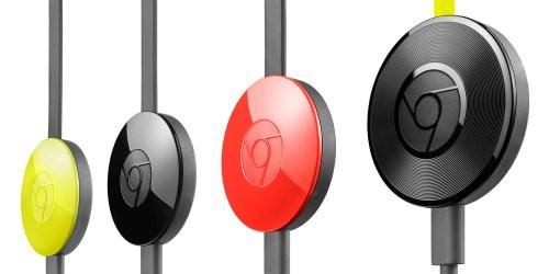 2nd gen Chromecast and Chromecast Audio