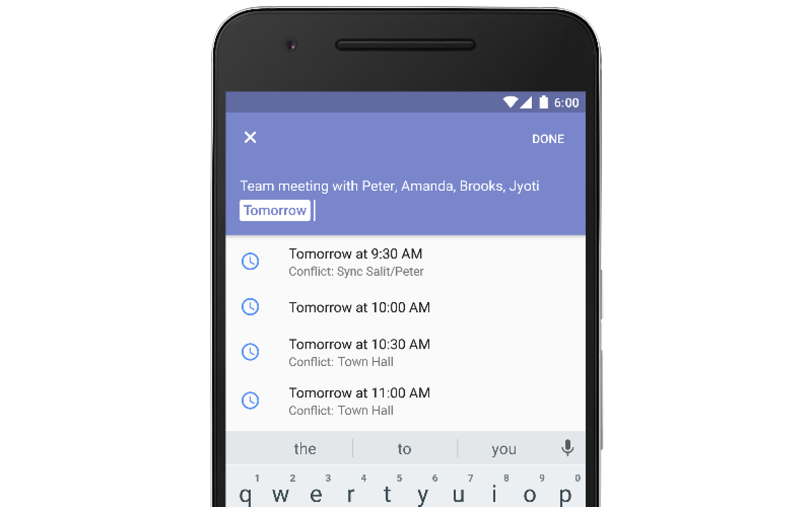 Google Calendar on Android will now tell you when you're free for an event