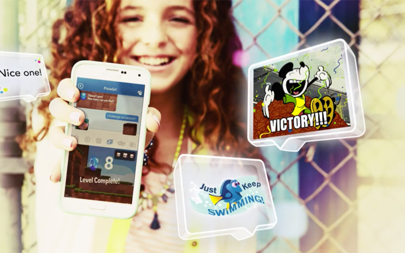 Disney launches child-focused messaging app w/ built-in games & safety features