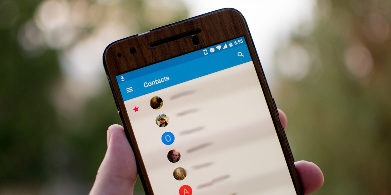 Google Contacts 2 0 for Android redesigns the people view, account