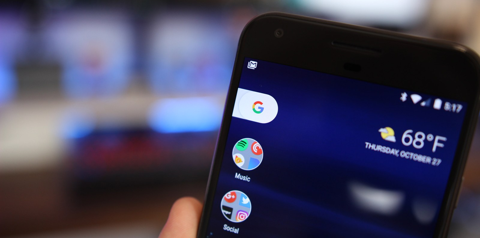 Pixel Launcher w/ Search 'Pill' and Google Now panel ported by developers to any device