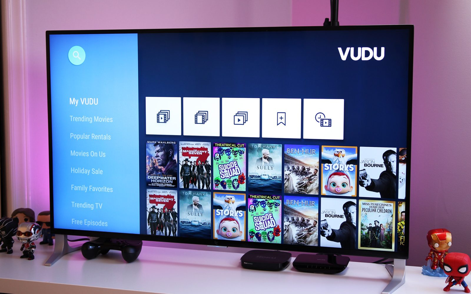 VUDU for Android updated with support for non-SHIELD Android