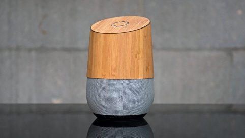 googlehome_slickwraps_bamboo_2