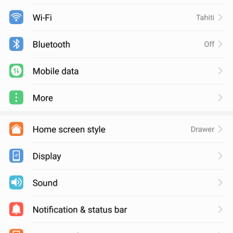 What do these settings look like...