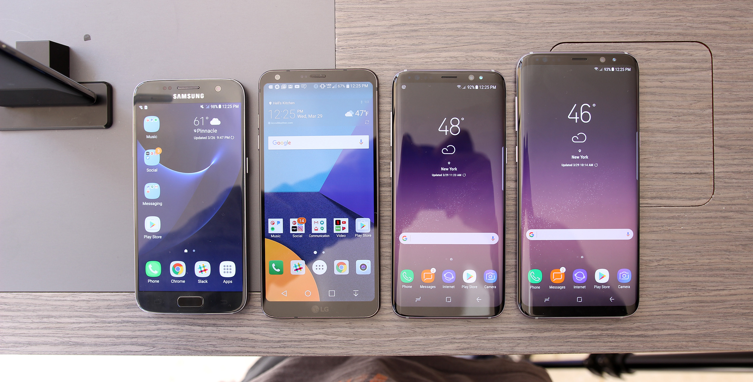 samsung galaxy phone size comparison