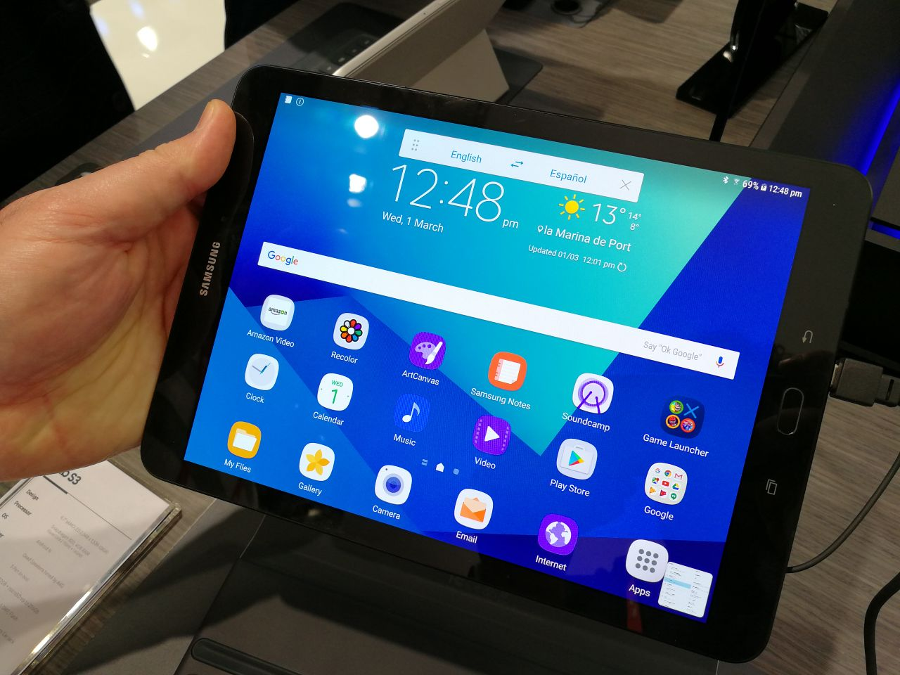Samsung Galaxy Tab S3 Hands-on: A Good Tablet You'll End
