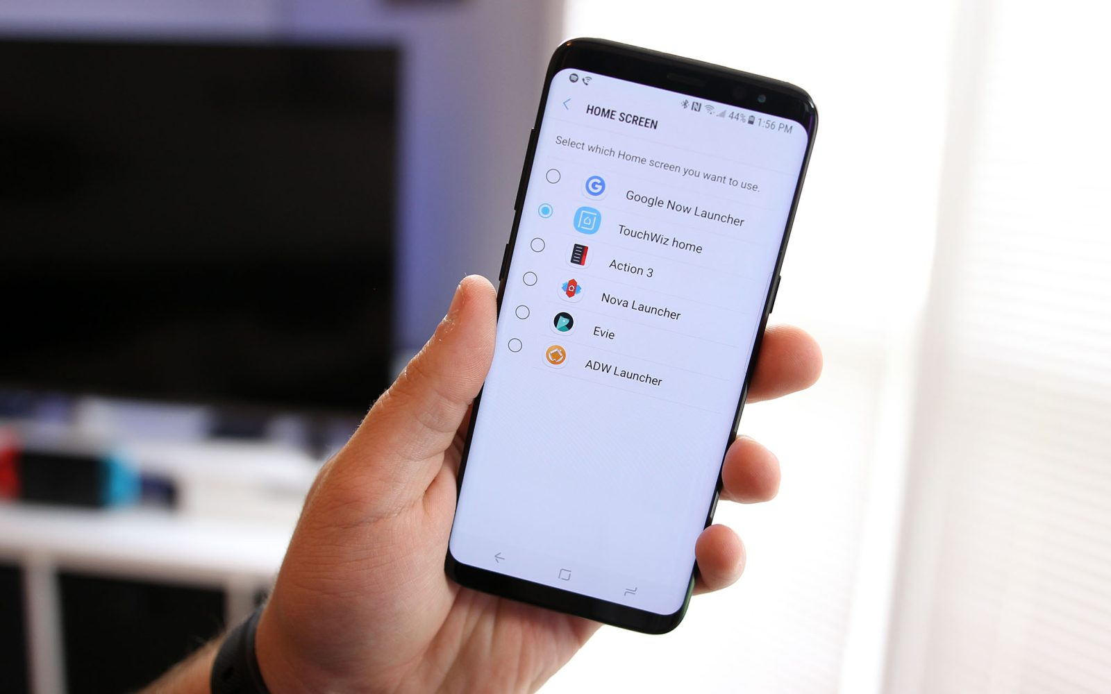 How to change your homescreen launcher on the Samsung Galaxy S8