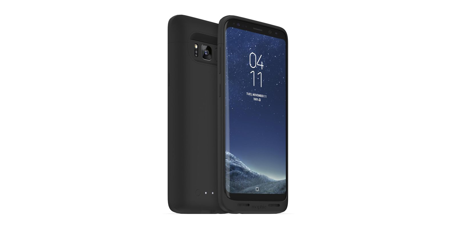 best sneakers 6bd1e 9145f Mophie's new Galaxy S8/S8+ cases add up to 3,300 mAh of extra power ...